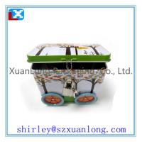 Quality car shape chocolate packing tin box for sale