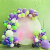Wholesale Custom Print Acrylic Plate Display Stands Backdrop Decoration Wedding Round White from china suppliers