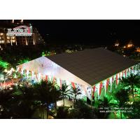 Wholesale White Outdoor Luxury Wedding Tents Aluminum With Air Conditioner from china suppliers