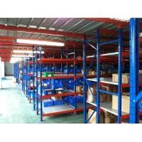 Wholesale High Capacity Durable Medium Duty Shelving With Step - Beams / Steel Laminates / Wood from china suppliers