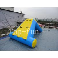 Quality Commercial 0.9mm PVC Tarpaulin Inflatable Big Air Slide / Blob For Water Park for sale