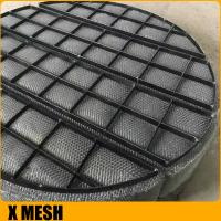 China 304ss Knitted Wire Mesh Mist Eliminators on sale
