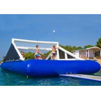 Wholesale Ourdoor Inflatable Sports Games Blue Water Inflatable Volleyball Court from china suppliers