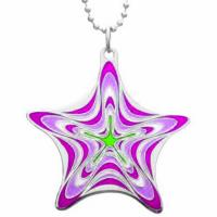 Wholesale Star Design Fashion Jewelry Pendants Brass Base Silver Enamel Star from china suppliers