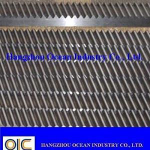 Wholesale Helical Gear Rack , type DP15 ,DP16 ,DP17 ,DP18 ,DP19 ,DP20 ,DP21 ,DP22 ,DP23 ,DP34 ,DP25 from china suppliers