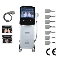 Quality Facial Lifting / Body Slimming Hifu Machine White Color With High Peak Power for sale