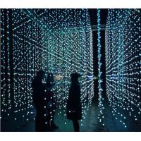 Wholesale 5m 25 dmx ball strings led point light pixel 3d globe curtain lights programmable decoration from china suppliers
