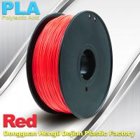 Wholesale PLA  Filament, 1.0kg /  roll ,1.75mm / 3.0mm  3D Printer Filament Red colors from china suppliers