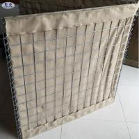 China Welded Wire Mesh Sand Filled Barriers / Military Sand Gabion Box Wall for sale