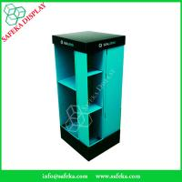 Buy cheap 4 side Paper material shelf cardboard point of sale supermarket shelf stand from wholesalers