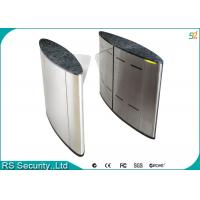 Quality School Subway High Security Flap Gate Smart Waterproof Turnstile System for sale