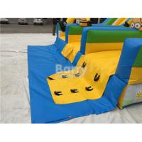 Commercial And Residential Small Kids Inflatable Slide With 0.5mm Pvc Tarpaulin