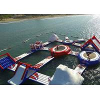 Wholesale Popular Floating Inflatable Island , Aquatic Inflatable Water Park Equipment For Adult from china suppliers