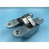 Pearl Chrome 3D Adjustable Concealed Hinges 180 Degree Concealed Door Hinge for sale