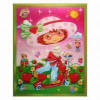 Wholesale 3-D Sticker with 5 Colors Changing Effect, Made of Recycled PP, Non-toxic from china suppliers