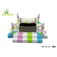 Wholesale Large Scale Soft Indoor Toddler Play Center With Plastic Parts / EVA Mat from china suppliers