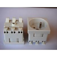 Wholesale Grounding French Electric Plug , Safety France Power Outlet For Wall Wholesale from china suppliers