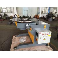 Wholesale Automatic Welding Positioners 3 Ton Tilting / Rotation Capacity CE Oil - free Gearbox from china suppliers