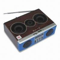 Wholesale Multimedia Mini Speaker for MP3 Player, w/ 150 to 18000Hz Frequency Response/LED Screen/FM Radio from china suppliers