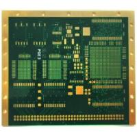Buy cheap High TG FR4 10layer HDI printed circuit boards manufacturer TG170 Material Copper Thickness HDI PCB Application from wholesalers