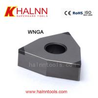 China CBN Turning insert on Hard Turning the inner bore of the gear after heat-treating process with semi-interrupted turning for sale