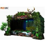 Wholesale 4D Crazy Hunting VR Shooting Simulator Green Color 12 Months Warranty from china suppliers