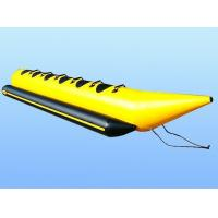Wholesale Amusement Park 6 Person Inflatable Water Banana Boat With CE / UL Blower from china suppliers
