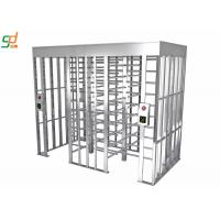 Wholesale Double Lanes Rotating Full Height Turnstiles Turnstyle Gates CE Approved from china suppliers