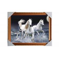Wholesale 3D Art Custom Lenticular Printing Pictures Offset Print PS Frame For Home Decorative from china suppliers