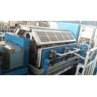 China Paper Pulp Moulding Machine , Paper Tray Making Machine With Germany Valves on sale