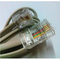 Wholesale RJ45-RJ11 Cat5e Patch Cords 2cores Copper 24awg Patch Cables Networking Voice Patch Cordy from china suppliers