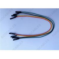 Wholesale UL1007 26AWG Green Custom Wire Harness Temco Top - Bottom Wires 200MM Length from china suppliers