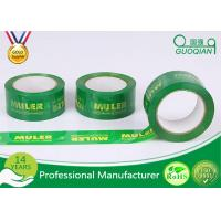 Quality Professional Adhesive 50m / 100m Printed Packing Tape For Advertisement for sale
