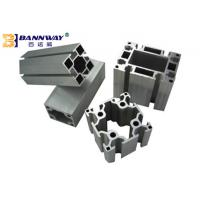 Wholesale Industrial V / T Slot Aluminium Profile , Anodized Aluminum T Channel Extrusion from china suppliers