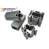 Industrial V / T Slot Aluminium Profile , Anodized Aluminum T Channel Extrusion for sale