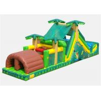 Quality Commercial Inflatable Obstacle Course , Cheer Amusement Bouncer Obstacle Course for sale