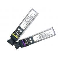 Wholesale Duplex LC 1.25G BIDI SFP Optical Transceiver  from china suppliers