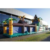 Wholesale Custom Made Inflatable Jungle Obstacle Course Flame Retardant from china suppliers