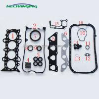 Wholesale D17A8 METAL full set for HONDA CIVIC VII Coupe 1.7 engine gasket 06110-PLC-010 50204500 from china suppliers