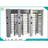 Wholesale Electronic Security Full Height Turnstiles 120 Degree Rotation Pedestrian Access from china suppliers