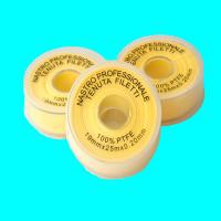 Buy cheap Yellwo Teflon Tape Gas use , PTFE Thread Seal Tape 19mmx 0.2mm x25m Gas use from wholesalers