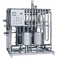 China High Feasibility Plate Heat Exchanger Pasteurizer / Yogurt Pasteurizer Easy Maintenance on sale