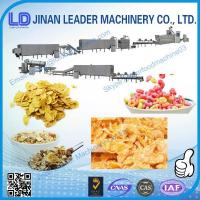 China Breakfast Cereal Corn Flake Processing Machine making process line on sale
