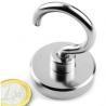 Large quantity sliver coating magnetic hook wholesale for sale