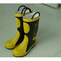 Wholesale EC Standard Fire Fighting Boots / Fire Resistant Safety Boots from china suppliers