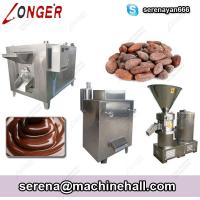 China Chocolate Paste Production Line|Cocoa Liquor Making Processing Machine on sale