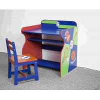 Wholesale Wooden Sports Themed Drawing - Study Desk Chair Set For Toddler from china suppliers