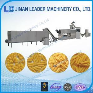 Wholesale large industry equipment italian pasta spaghetti macaroni machine from china suppliers