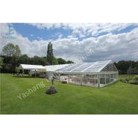 Wholesale Grassland Clear PVC Fabric Cover Aluminum Profile Luxury Wedding Tent Buildings from china suppliers