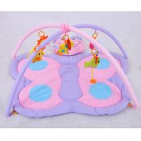 Wholesale Purple Butterfly Babies Play Gyms And Mats / Baby Girl Play Gym from china suppliers